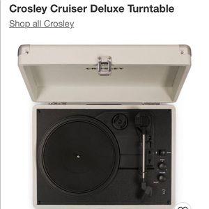 Crosley Cruiser Deluxe Turntable